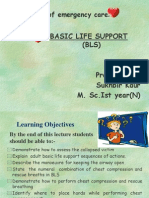 (8) Basic Life Support (Bls)