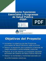 Presentaci+Šn Institucional FESP1