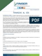 Finanzas al Día 13.04.12
