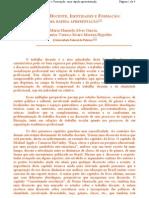 Hypolito - Trabalho Docente, Identidades e Formação - apresentação