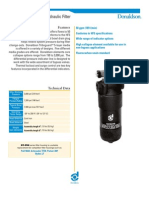 Donaldson High Pressure Filters