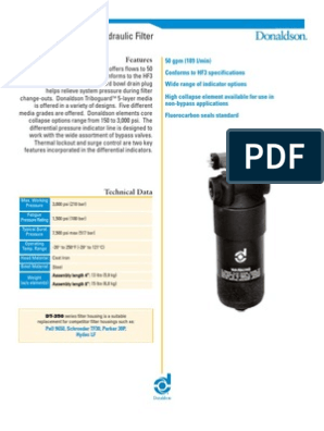 Killer Filter Replacement for DONALDSON P169429