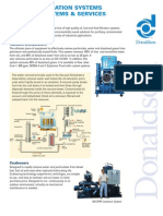 Donaldson Purify and Pressure Filters