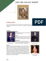 APUNTES - Biografía del Gral SAN MARTIN