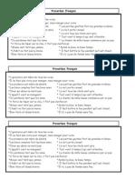 Proverbes français