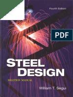 Steel Design Solution Manual - 4th Ed - Segui