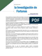 Investigacion de Fortunas