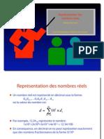 Représentation des nombres réels - Eduardo Sanchez
