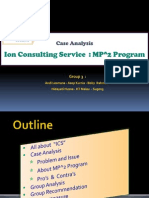 3. Ions Consultant