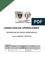 Direccion de Opera c i Ones