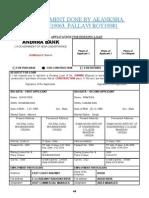 Housing Loan Application - Cum Appraisal
