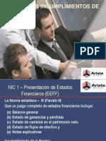 Consideraciones Niif 2012 Sc