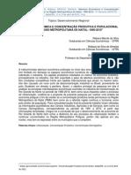 ARTIGO - ABERTURA ECONÔMICA E CONCENTRAÇÃO PRODUTIVA E POPULACIONAL NA REGIÃO METROPOLITANA DE NATAL_ 1990-2010_