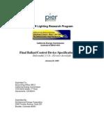 Deliverable 2.3.2f Driver Spec Elevators