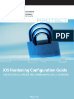 iOS 5 Hardening Configuration Guide - Australian DoD Intelligence & Security