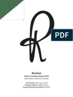 Resolve Company Report Final