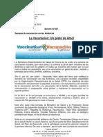Boletín 027_La Vacunación_ Un gesto de Amor