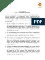 Ankur Biomass Gasifier Systems