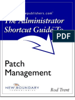 The Administrator Shortcut Guide to Patch Management