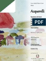 Locandina Mostra Acquerelli
