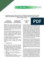 Considerations on the Design of Composite Suspension Insulators