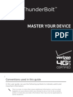 HTC Thunderbolt Manual