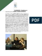 Jornadas en SALTO- ABRIL- Año 2012- Síntesis de PRENSA-