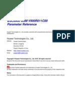 BSC6900 GSM Parameter Reference(V900R011C00_05)