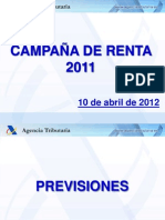 Presentacion Campaña Renta 2011