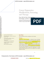 Gal-Yam (Review 2008) - Cancer Epigenetics_ Modifications, Screening and Therapy