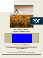 Sample.mortgage Analysis the Diigence Group