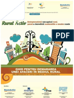 GHID Pentru Demararea Unei Afaceri in Mediul Rural