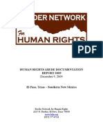 2009 BNHR Abuse Documentation Report