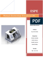 Manual de Desmontaje Fresadora CNC1
