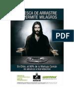 La presente imagen a analizar corresponde a una campaña que lanzó Greenpeace Chile en el año 2009 para Semana Santa