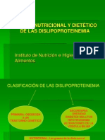 Dieta y Dislipoproteinemia