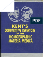 Kent´s Comparative Repertory of the Homoeopathic Materia Medica