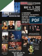 CMS@TheChapel 2012 - Event Program