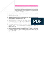 Bibliografías de libros de Odontología Preventiva1