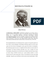 DEWEY_A DEMOCRACIA É RADICAL