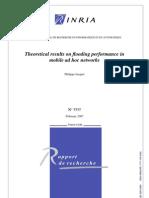Flood Performance Adhoc