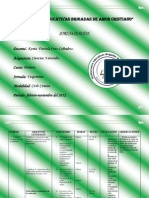 Jornalizacion I-ciclo Comun -Ciencias Naturales