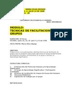 Manual Tecnicas de Facilitacion Cehus 1998 Ver Ver