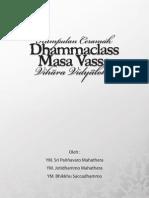 Ceramah Dhammaclass Masa Vassa