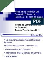 Retos en la Medición del Comercio Exterior de Servicios