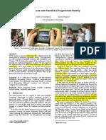 Ismar07 Keynote Paper
