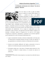 Historia Económica Argentina