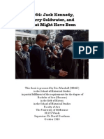 Thesis 2010 - John F. Kennedy and Barry Goldwater