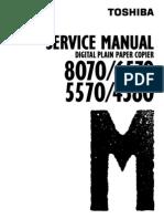 DP4580, DP5570, DP6570, DP8070 Service Manual+Service Handbook