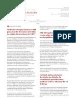 Boletim Semanal 030 (13-04-2012)